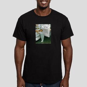 Where's The Damn Beer Men's Fitted T-Shirt (dark)