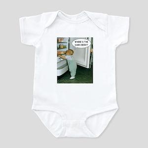 Where's The Damn Beer Infant Bodysuit
