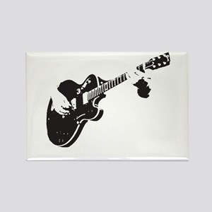 Guitar Rectangle Magnet