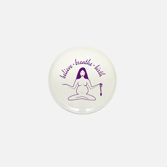 Cute Birth doula Mini Button