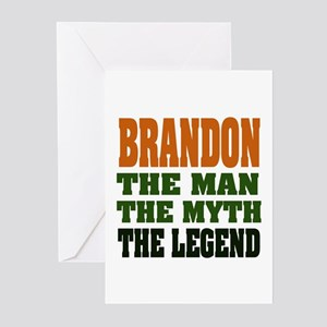 BRANDON - the legend Greeting Cards (Pk of 20)