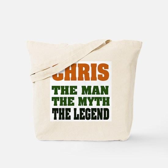 CHRIS - The Legend Tote Bag
