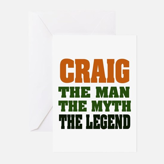 CRAIG - The Legend Greeting Cards (Pk of 20)