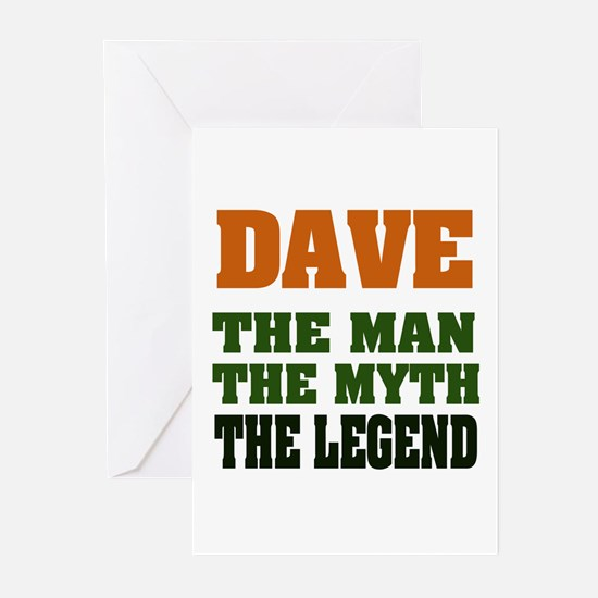 DAVE - The Legend Greeting Cards (Pk of 20)