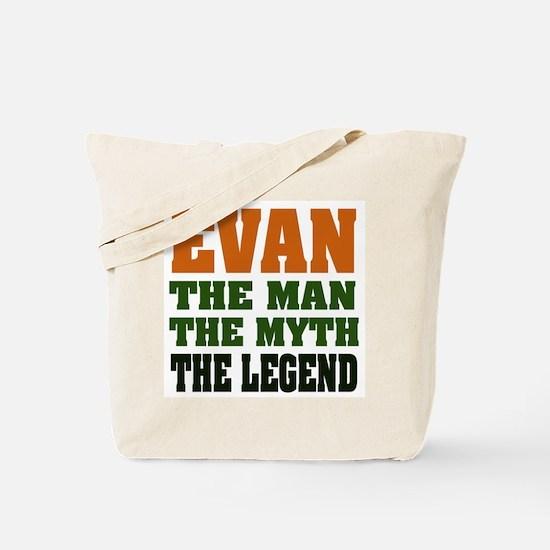 EVAN - the legend! Tote Bag