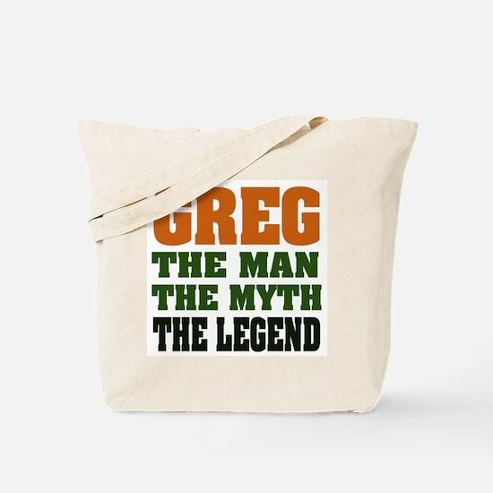GREG - The Legend Tote Bag