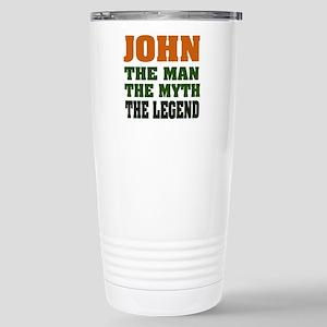 JOHN - The Legend Stainless Steel Travel Mug
