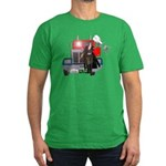 Killer Angel Ella Men's Fitted T-Shirt (dark)
