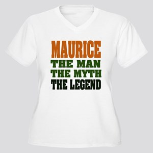 MAURICE - the man, the legend Women's Plus Size V-