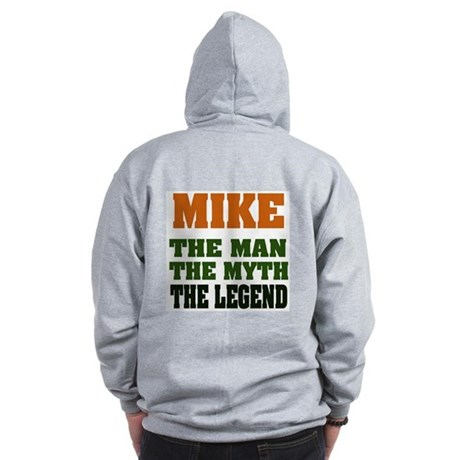 MIKE - The Lengend Zip Hoodie