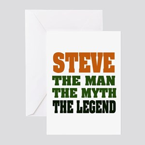 STEVE - The Legend Greeting Cards (Pk of 20)