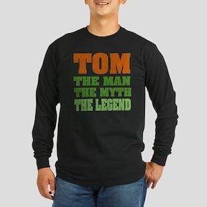 TOM - The Legend Long Sleeve Dark T-Shirt
