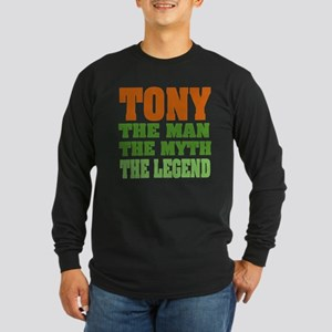 TONY - The Legend Long Sleeve Dark T-Shirt