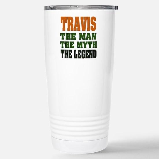 TRAVIS - The Legend Stainless Steel Travel Mug