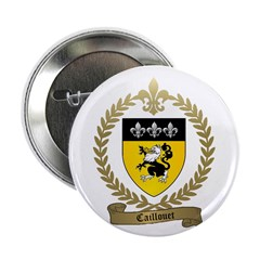 "CAILLOUET Family Crest 2.25"" Button (10 pack)"