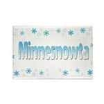 Minnesnowta Rectangle Magnet (100 pack)