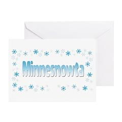 Minnesnowta Greeting Card