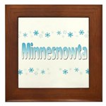 Minnesnowta Framed Tile