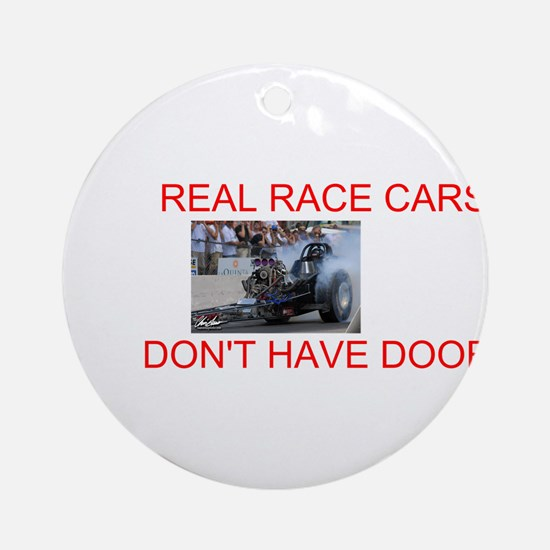 REAL RACE CARS Ornament (Round)