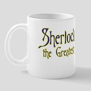 Sherlock the Sleuth Logo Mug $14.99