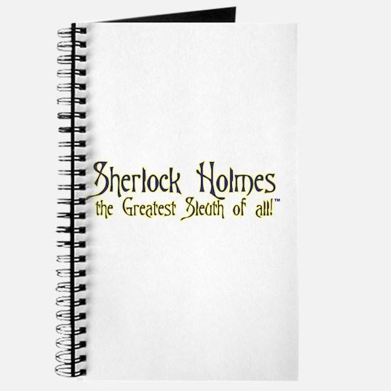 Sherlock the Sleuth Logo Journal $14.99