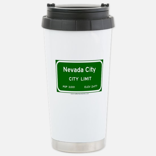 Nevada City Stainless Steel Travel Mug