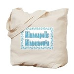 Minneapolis Minnesnowta Tote Bag