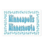 Minneapolis Minnesnowta Postcards (Package of 8)