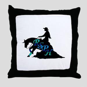 rsph reiner seafoam Throw Pillow