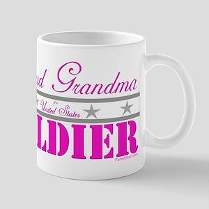 Proud Grandma of a Soldier Mug