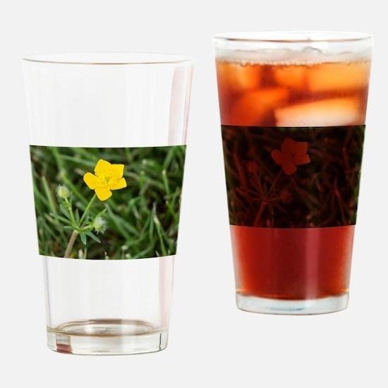 Buttercup Drinking Glass