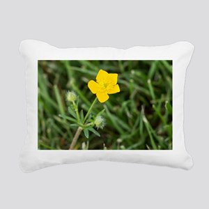 Buttercup Rectangular Canvas Pillow