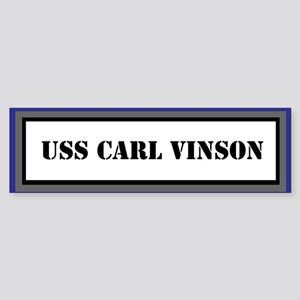 USS Carl Vinson Sticker (Bumper)