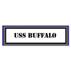 USS Buffalo Sticker (Bumper)