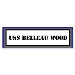 USS Belleau Wood Sticker (Bumper)