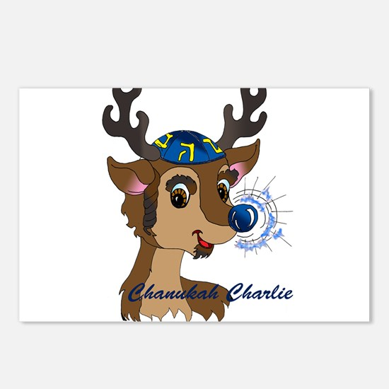 Chanukah Charlie Postcards (Package of 8)