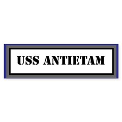 USS Antietam Sticker (Bumper)