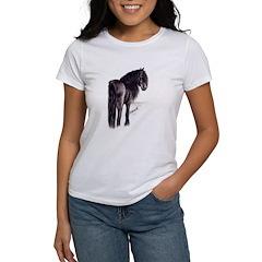 Friesian Mare Women's T-Shirt