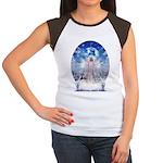 Winter Angel Women's Cap Sleeve T-Shirt