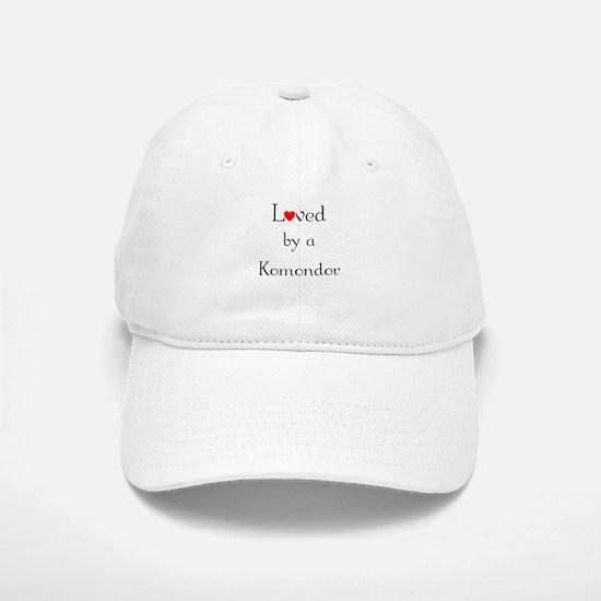 Loved by a Komondor Baseball Baseball Cap