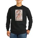 Healing Harp Long Sleeve Dark T-Shirt