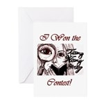 Teeny Weeny Story Contest Greeting Cards (Pk of 20