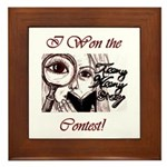 Teeny Weeny Story Contest Framed Tile
