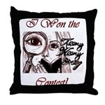 Teeny Weeny Story Contest Throw Pillow