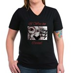 Teeny Weeny Story Contest Women's V-Neck Dark T-Sh
