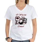 Teeny Weeny Story Contest Women's V-Neck T-Shirt