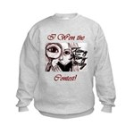 Teeny Weeny Story Contest Kids Sweatshirt