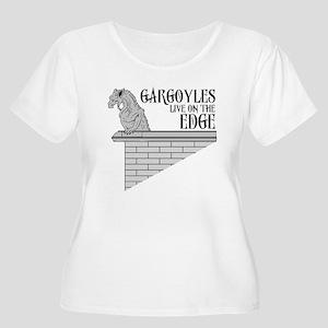 Gargoyle Women's Plus Size Scoop Neck T-Shirt