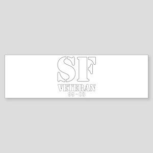 White Bumper Sticker