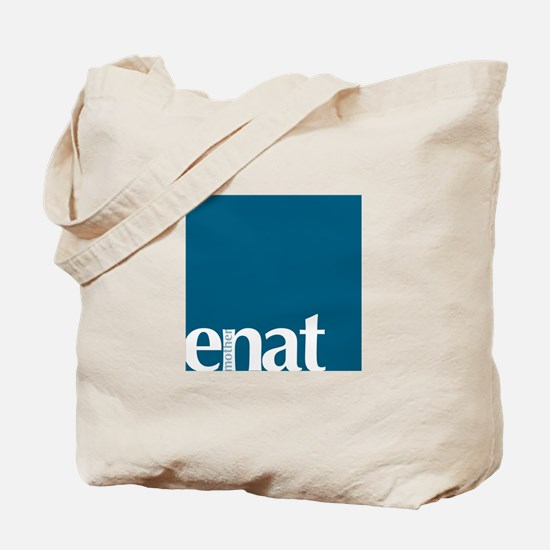 Mother in Amharic: Teal Tote Bag